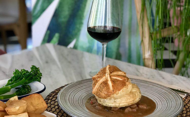 Beef & Rioja Pie